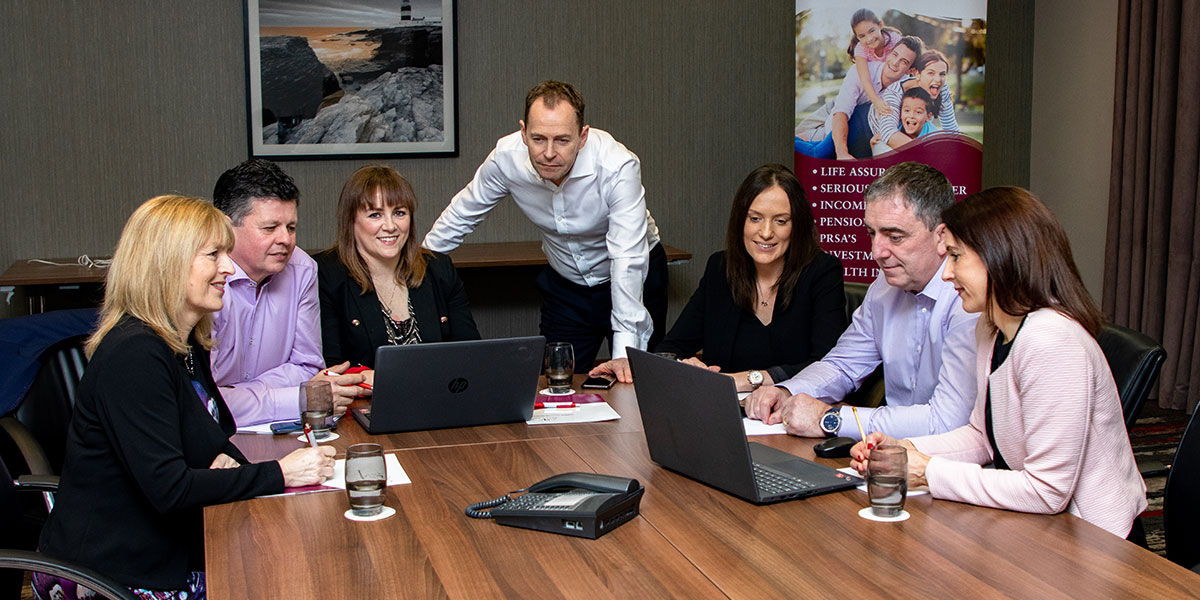 Neiland Financial Services staff at work